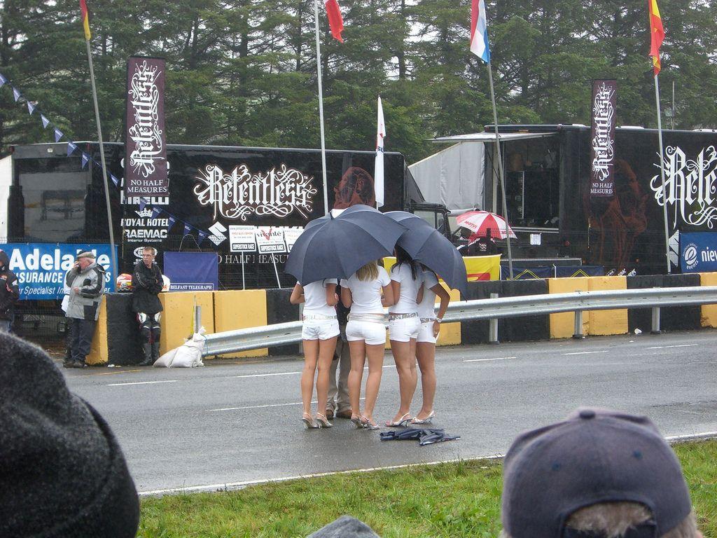 Az időjárás nem volt könyörületes az Ulster GP-vel