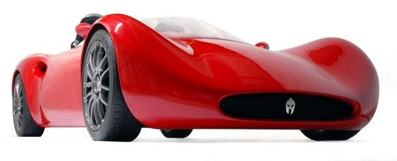 Spartan Motorcompany Ducati motoros autója