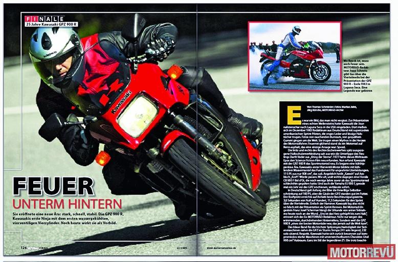 Motorok 30 éves a Ninja