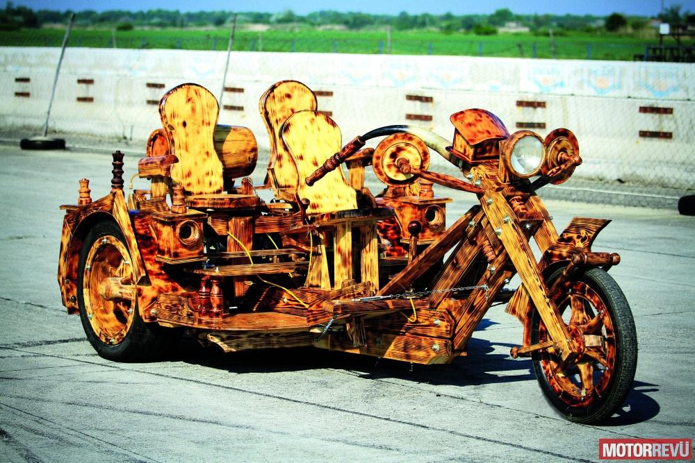 Motorok Puskás-féle fatrike
