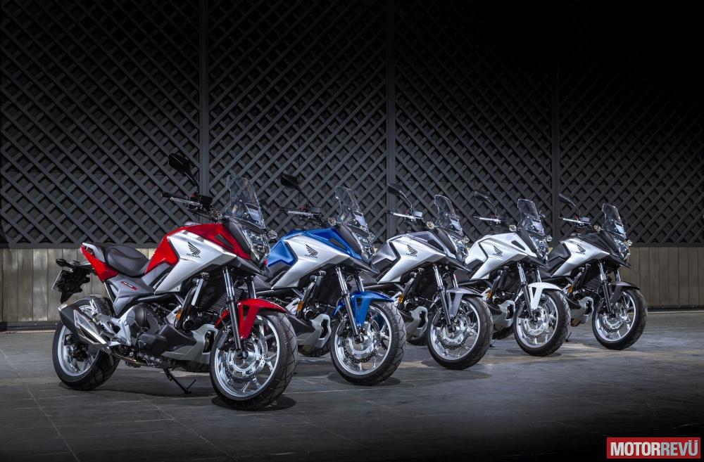 Motorok Tesztek galériája Honda NC750X (2016)