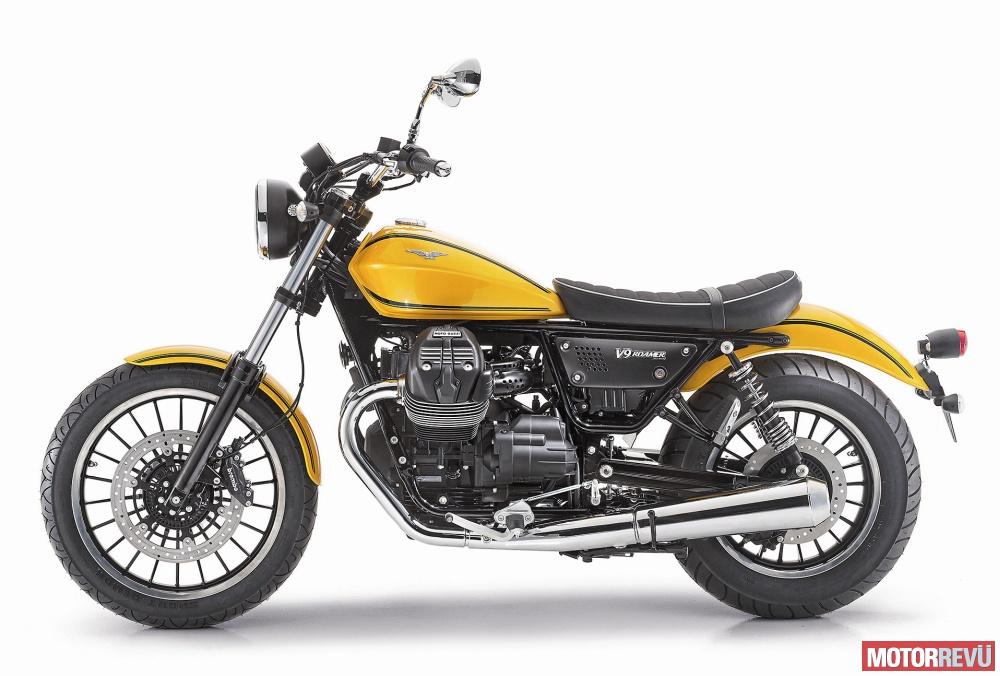 Motorok Tesztek galériája Moto Guzzi V9 Roamer/Bobber (2016)