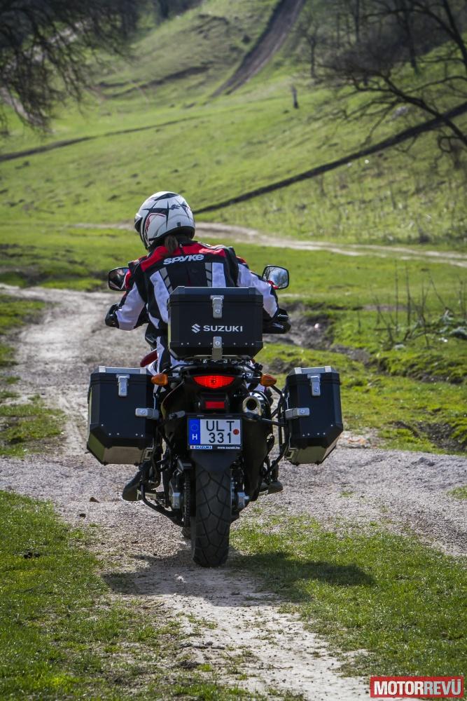 Motorok Tesztek galériája Suzuki DL650 XT