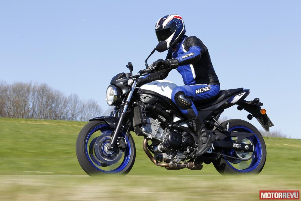 Motorok Tesztek galériája Suzuki SV650 (2016) topteszt