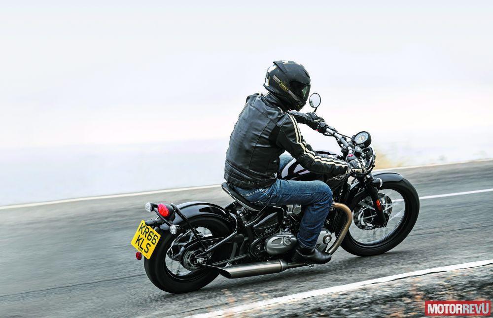 Motorok Tesztek galériája Triumph Bonneville Bobber (2017)