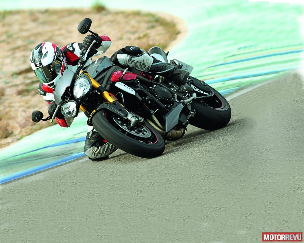 Motorok Tesztek galériája Triumph Speed Triple R/S