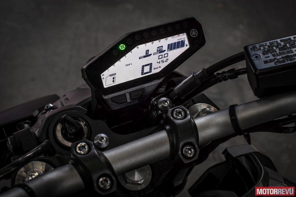 Motorok Tesztek galériája Yamaha MT-09 (2017)