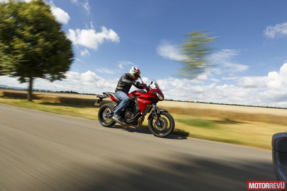 Motorok Tesztek galériája Yamaha Tracer 700 Topteszt (2017)