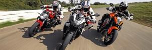 �sszehasonl�t� teszt: Power naked bike-ok