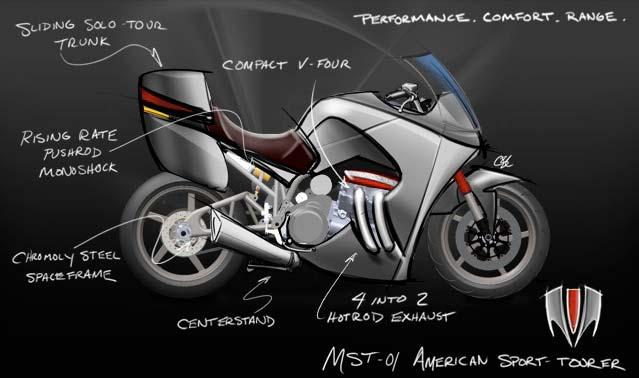 Motus Motorcycles MST-01