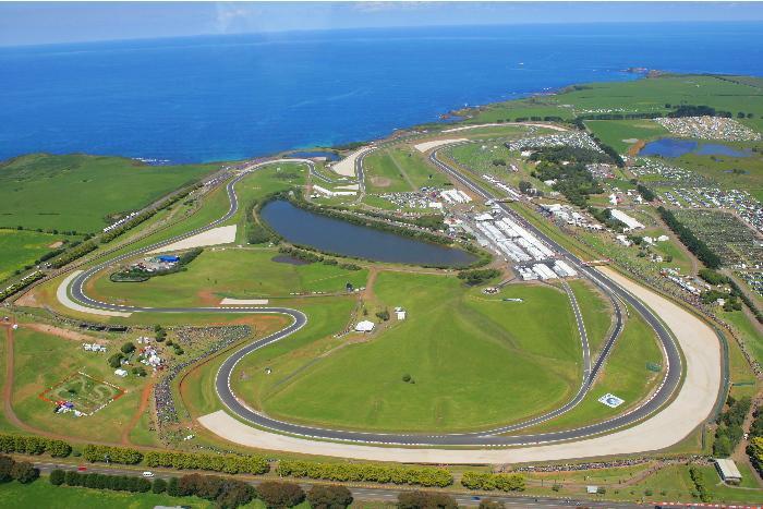 Phillip Island-i versenyp�lya