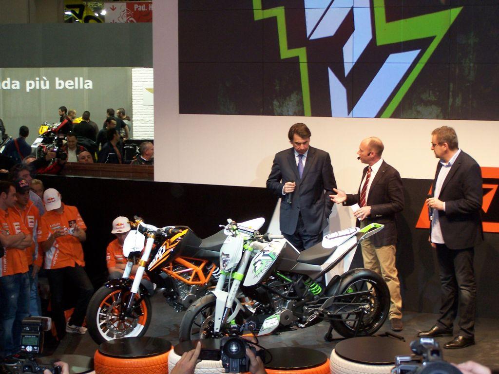 KTM 125 koncepció