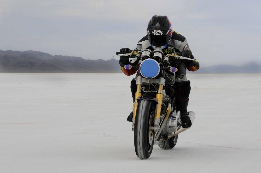 Norton a BUB Motorcycle Speed Trialson