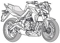 Kawasaki ER6-n hasonm�son dolgozik a Kymco