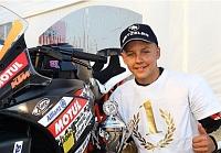 Laczk� M�t� megnyerte az ADAC KTM Junior Kup�t