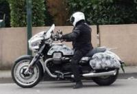 K�mfelv�telen a Moto Guzzi California 1400 Bagger