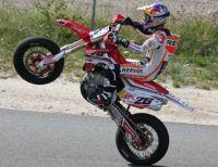 �gy pihen egy MotoGP versenyz�