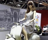 Különleges Vespák a Bolognai Motor Show-n