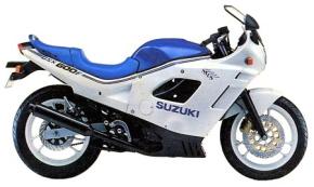 Suzuki GSX600F 1988-1997