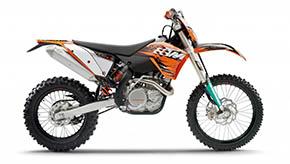 KTM 400 EXC 2005