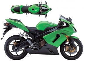 Kawasaki ZX-6R 2005-