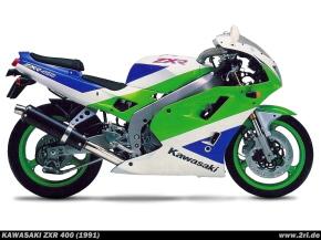 Kawasaki ZXR 400 (L) 1991-