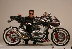 Suzuki Katana hot rod bike