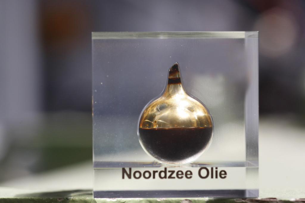 Kőolaj, ahogy az Északi-tenger alól előkerül