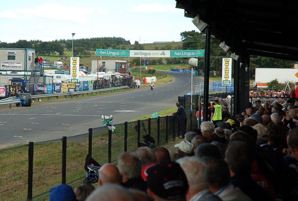 Az Ulster GP célegyenese