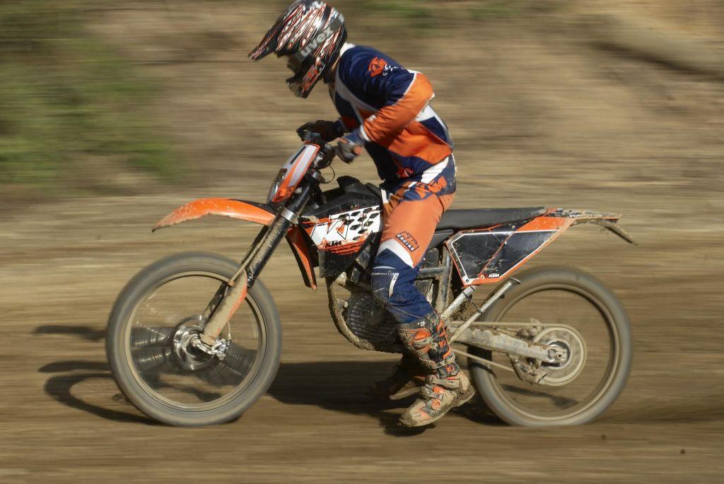 KTM elektromos cross motor