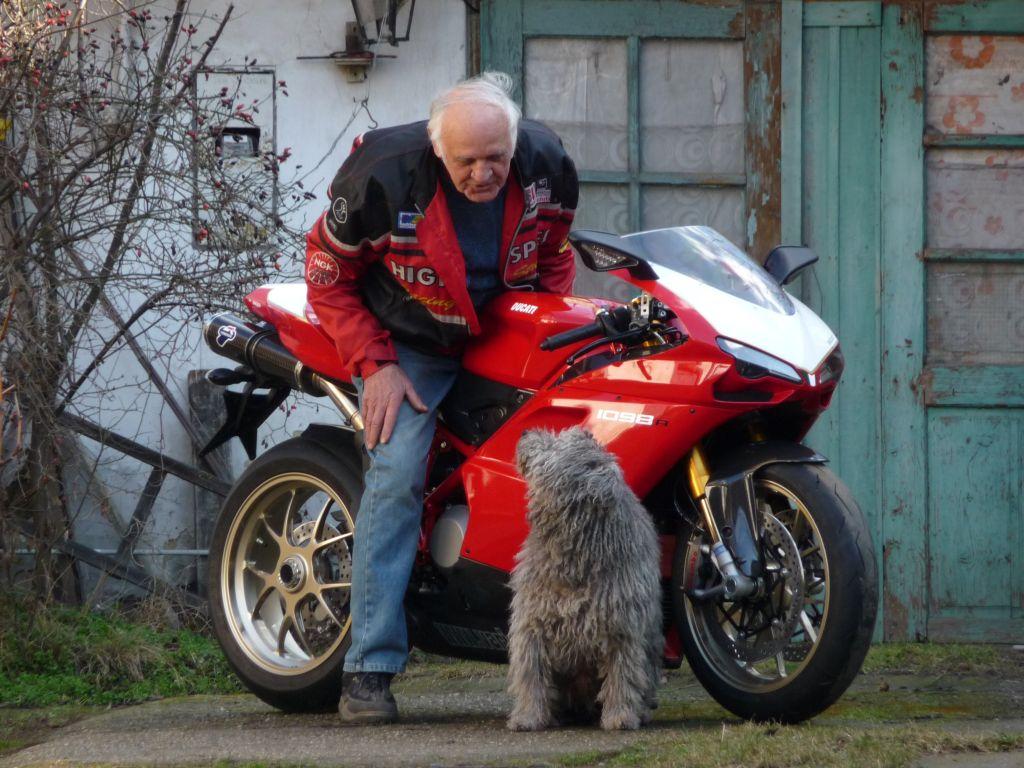 Európa legidősebb Ducati Superbike tulajdonosa