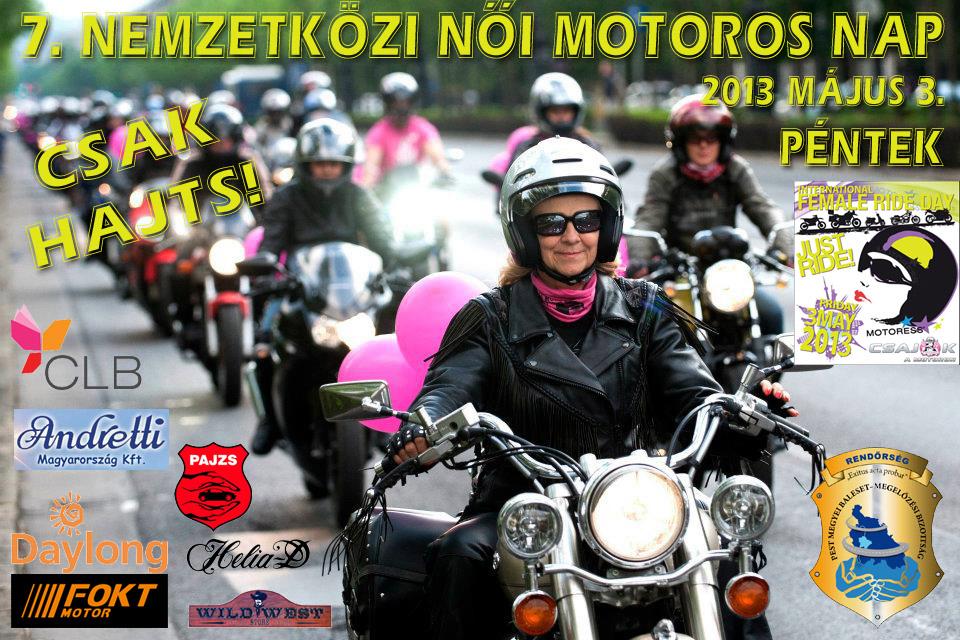 motorkerékpár nők egyetlen)