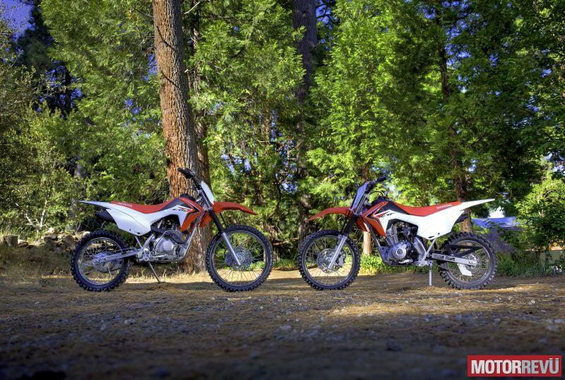 Motorok Honda CRF125F