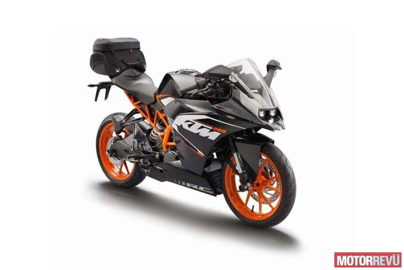 Motorok KTM RC125 és KTM RC200