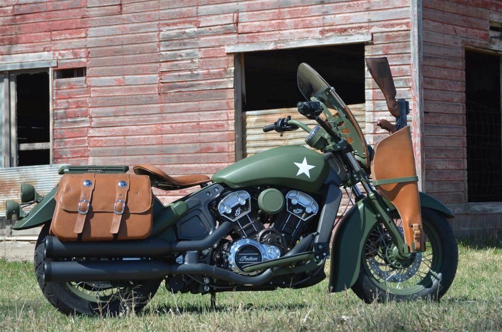 Motorok Custom sarok Indian Scout Klock Werks Kustom Cycles
