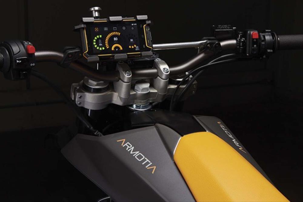 Motorok Armotia Due R és Due X - kétkerék-meghajtású elektromos motorok