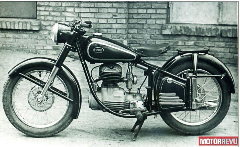 Motorok Csepel 250