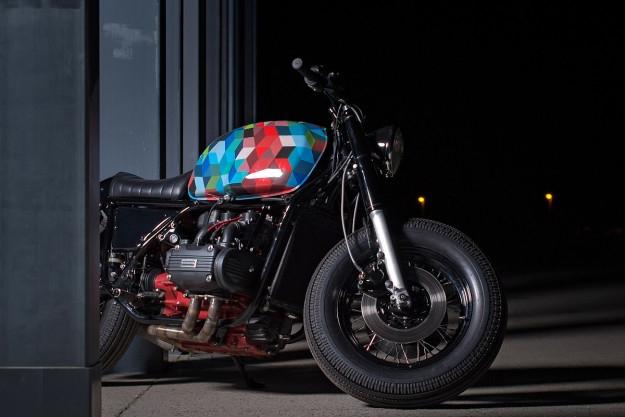 Motorok Custom sarok Honda GL1000 Café Racer