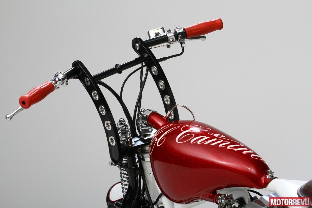 Motorok Custom sarok Radical Garage - El Camino