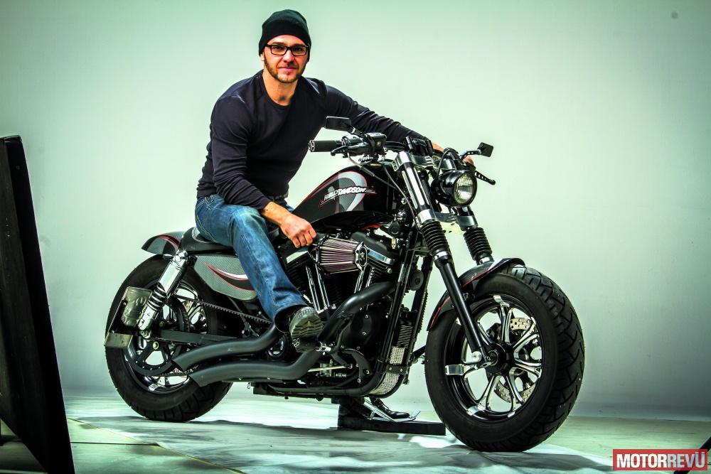 Motorok Custom sarok Radical Garage: Obsession