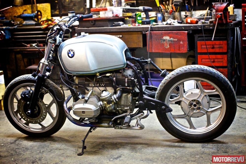 Motorok Custom sarok Sapka Mûvek: Egy BMW R65 újjászületése