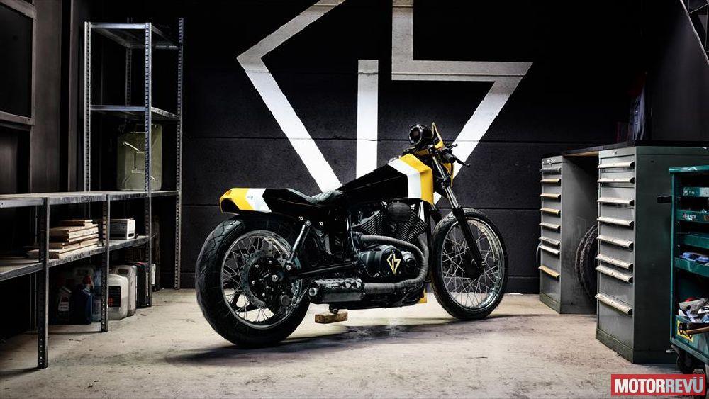 Motorok Custom sarok Yamaha XV950 ULTRA
