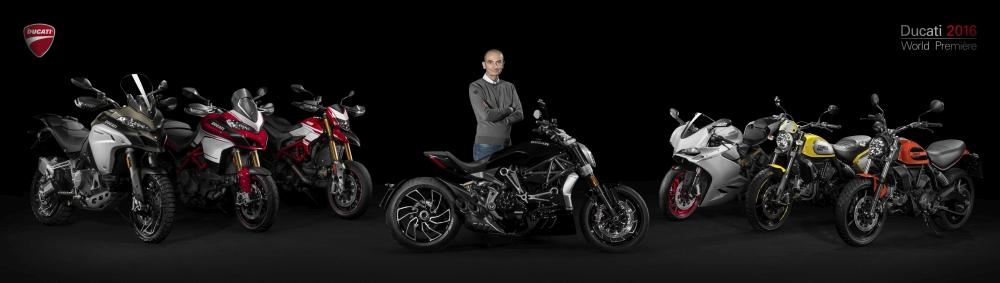 Motorok Ducati 2016-os újdonságok