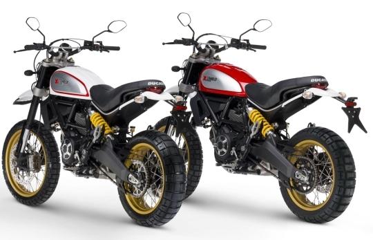 Motorok Ducati Scrambler Desert Sled (2017)