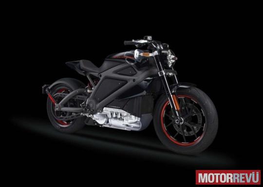 Motorok Harley-Davidson LiveWire elektromos motor