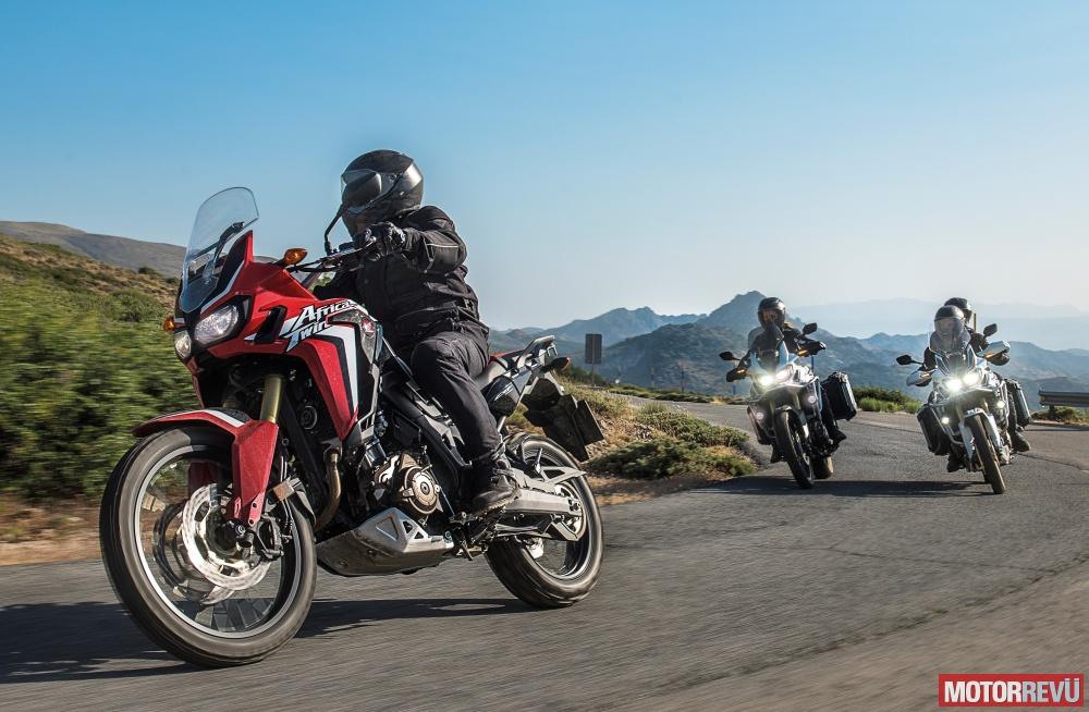 Motorok Honda Africa Twin 2015