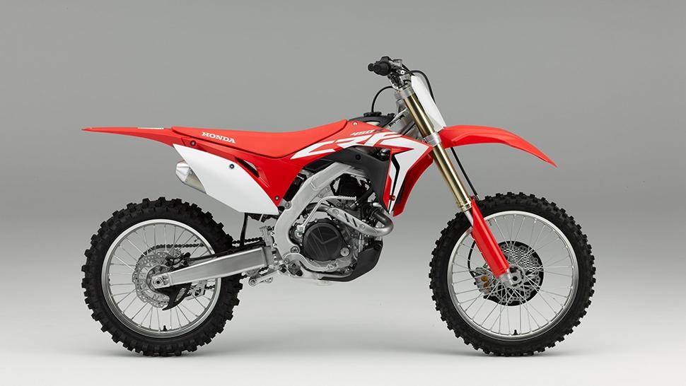 Motorok Honda CRF450 (2017)