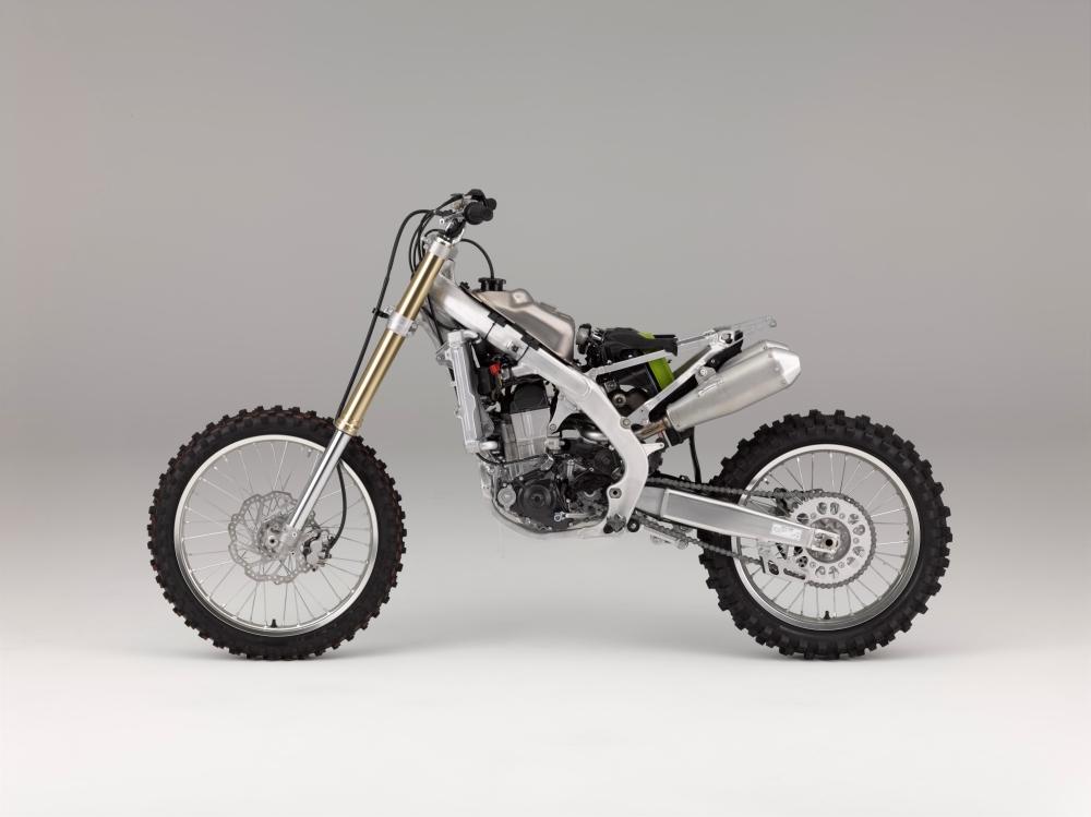 Motorok Honda CRF450 technika (2017)