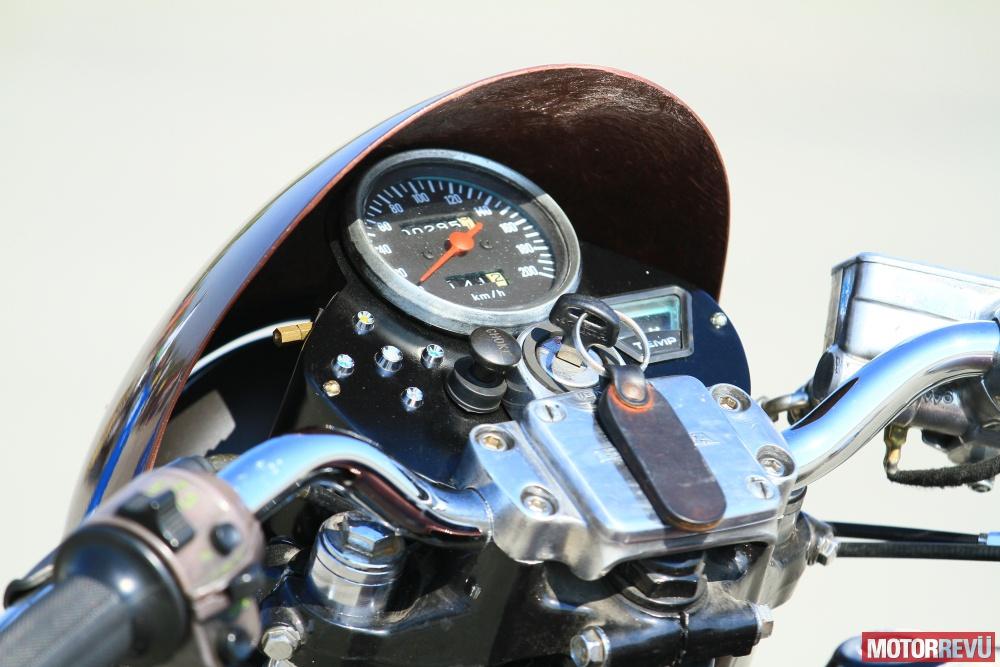 Motorok Honda CX500 Café Racer