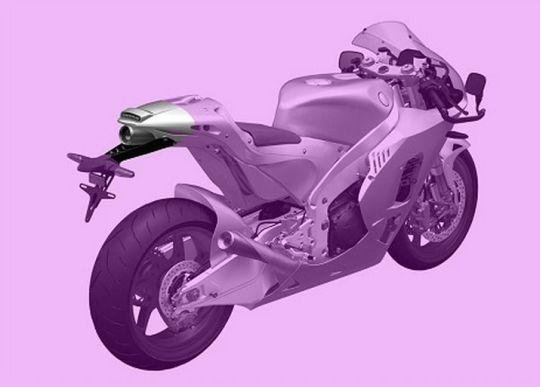 Motorok Honda RC213V-S Szabadalom